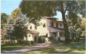 The Idaho State Governors House in Boise, Idaho, ID, Pre-zip code Chrome