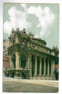 Kansas City to Burden, Kansas 1909 PC Willis Wood Theatre, Missouri