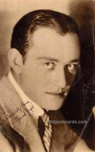 Conrad Nagel, Blatz Gum Movie Star Actor Actress Film Star Postcard, Old Vint...