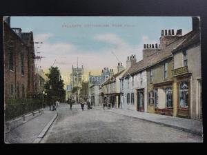 East Riding of Yorkshire COTTINGHAM Hallgate shows THE KING WILLIAM Vl Pub c1909