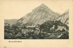austria, FRAUNKIRCHEN, Panorama (1899)