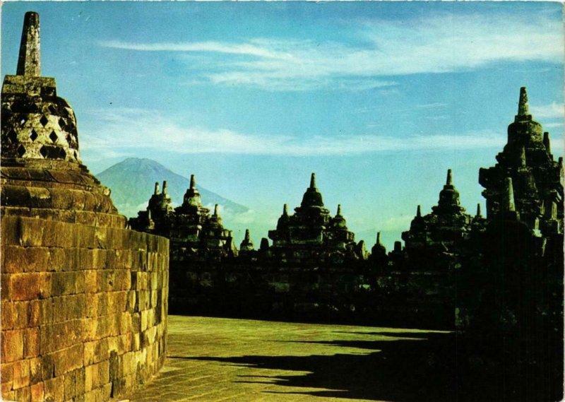 CPM AK Borobudur Buddhist Temple INDONESIA (726749)