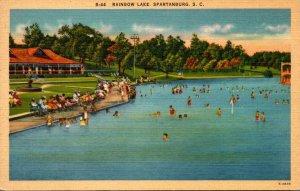 South Carolina Spartanburg Rainbow Lake