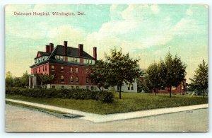 Postcard DE Wilmington Pre 1920's View Delaware Hospital R14