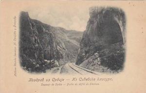 Souvenir de Serbie-Partie du defile de Sitchevo , 1890s