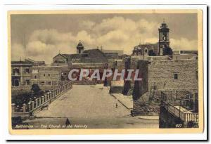 Israel Postcard Old Bethlehem The church of the nativity