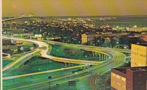 Harbor Bridge Interchange Corpus Christi Texas