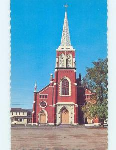Unused Pre-1980 CHURCH SCENE Fort Kent - Near Caribou Maine ME A7836