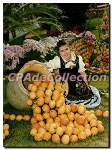 Postcard Moderne Menton Carei Free Commune From festivals lemon