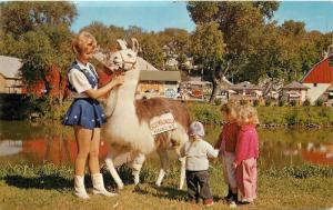 Amusement Children 1960s Circus World Museum Baraboo Wisconsin postcard 8669