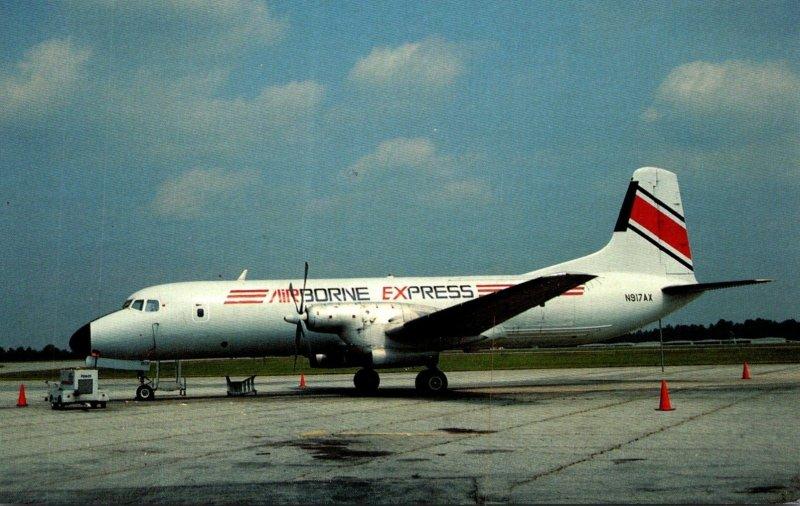 Airborne Express YS-11A-205 At Greensboro-High Point North Carolina