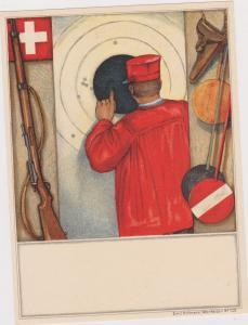 Gun Tournament Poster art , Switzerland, 00-10s ; Man & Target