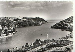 Devon Postcard - The Estuary - Dartmouth - Real Photograph - Ref TZ4935