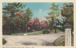 BROCKVILLE , Ontario , Canada , 1930s ; The Ontario Hospital