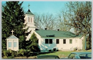 Great Lakes Illinois~All Souls Chapel at Navy Hospital~To The Glory of God~1950s