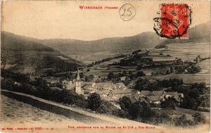 CPA  Wisenbach (Vosges) -Vue générale sur la Route de St-Dié a Str-Marie(200715)