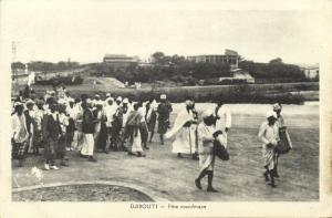 djibouti, Muslim Festival (1930s) Islam
