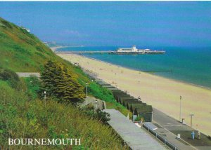 Dorset Postcard - West Cliff and Pier - Bournemouth - Ref TZ5480