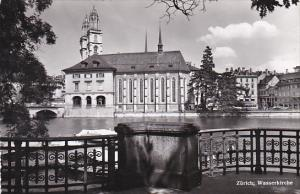 Switzerland Zurich Wasserkirche Photo