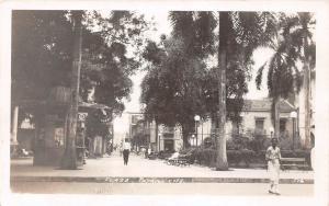 E48/ Foreign RPPC Postcard Central America c1920s Panama City Plaza Stores 3