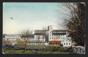 Alpaca Mills Outside View Springdale ME Unused c1910s