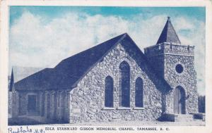 TAMASSEE, South Carolina, 10-20s; Edla Stannard Gibson Memorial Chapel