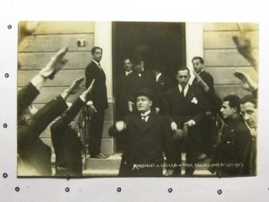 circa 1925 -Mussolini-Locarno-Villa Fannelli      SALE ENDS SEPT 5