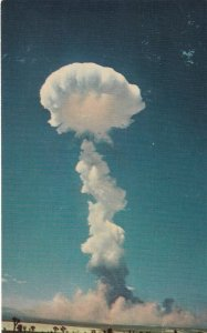 YUCCA FLATS , Nevada , 50-60s ; Atomic Explosion