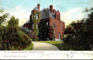 Massachusetts Brockton W L Douglas Residence 1906