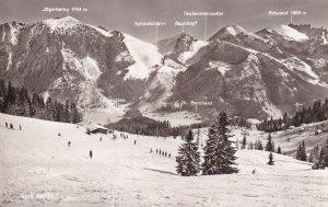 RP; GERMANY, 1930-1940s; Lyra Abfahrt, Alps