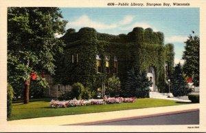 Wisconsin Sturgeon Bay Public Library Curteich