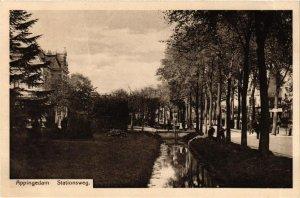 CPA APPINGEDAM Stationsweg NETHERLANDS (705955)