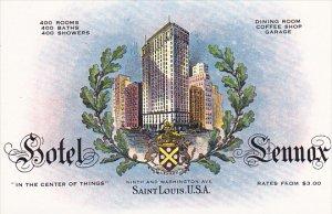 Missouri St Louis Hotel Lennox