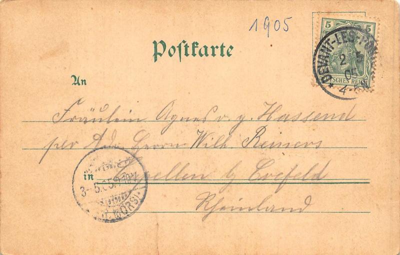 France Gruss aus Metz Panorama von der Feste Friedrich Karl Postcard