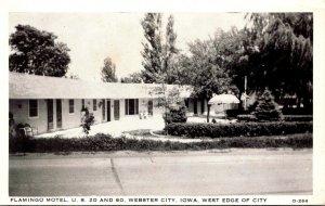 Iowa Webster City Flamingo Motel