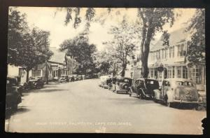 Picture Postcard Unused Main Street Cape Cod MA LB