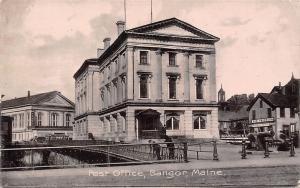 Maine, Bangor, Post Office, Cannon, Commerce 1910