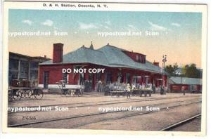 D & H Depot, Oneonta NY