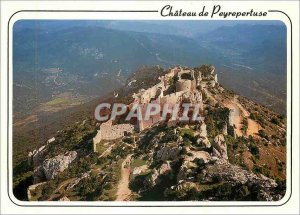 Modern Postcard The Castle Cathar castle of Peyrepertuse
