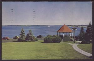 Eastern Promenade,Portland,Maine Postcard BIN