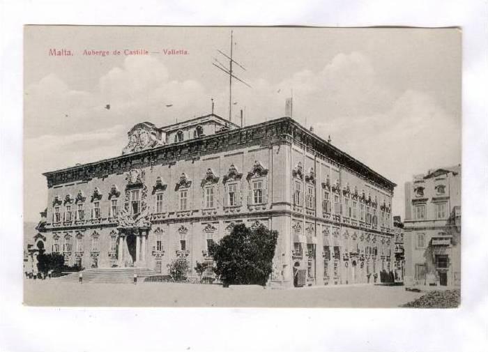Malta. Auberge de Castille - Valletta, 00-10s