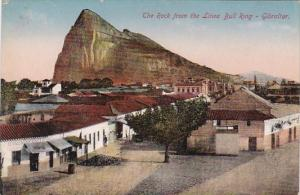 Gibraltar The Rock From The Linea Bull Ring