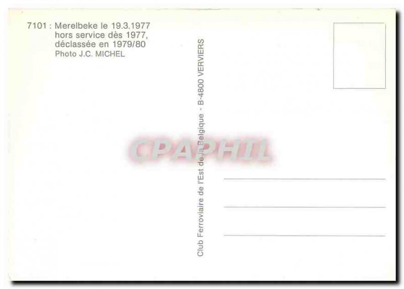 Postcard Modern Merelbeke