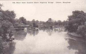 Maryland Elkton Elk River From Eastern Shore Highway Bridge Albertype
