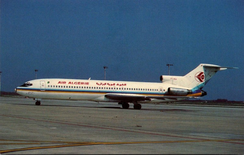 Air Algerie Boeing B-727-2D6 At Barcelona Spain