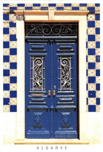 B108656 Portugal Algarve House Door, Maison real photo uk