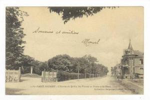 L'Entree Du Jardin Des Plantes Et l'Avenue De Bearn, Saint-Nazaire (Loire Atl...