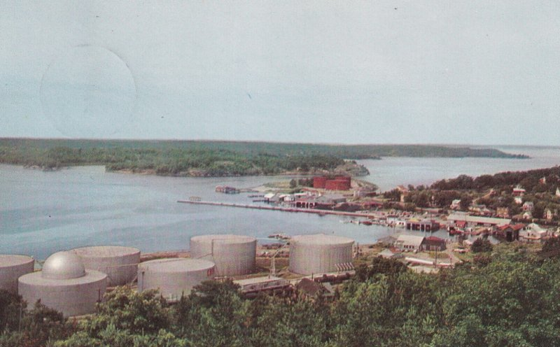 PARRY SOUND, Ontario, Canada, PU-1957; View Of The Harbour