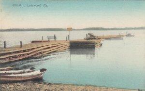 LAKEWOOD, Maine, 1900-10s; Wharf