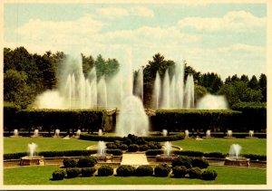 Pennsylvania Kennett Square Longwood Gardens Main Fountain